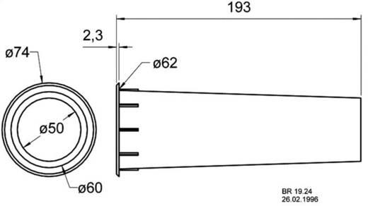Visaton Bassreflexrohr Rohr-Ø 63 mm Rohr-Länge 190 mm