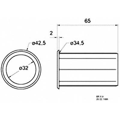 Bassreflexrohr 65 mm Visaton 5212 Preisvergleich