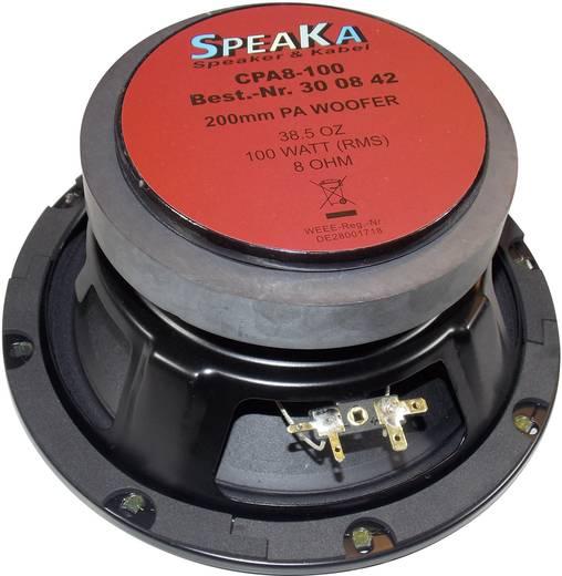 8 Zoll 20.32 cm Lautsprecher-Chassis Renkforce CPA 8-100 100 W 8 Ω