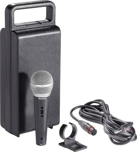 Hand Gesangs-Mikrofon Renkforce DM-518 Übertragungsart:Kabelgebunden inkl. Klammer, inkl. Kabel, inkl. Mikrofoncase