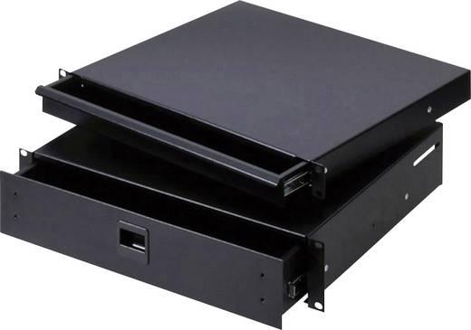 87402E 19 Zoll Rackschublade 2 HE Stahl