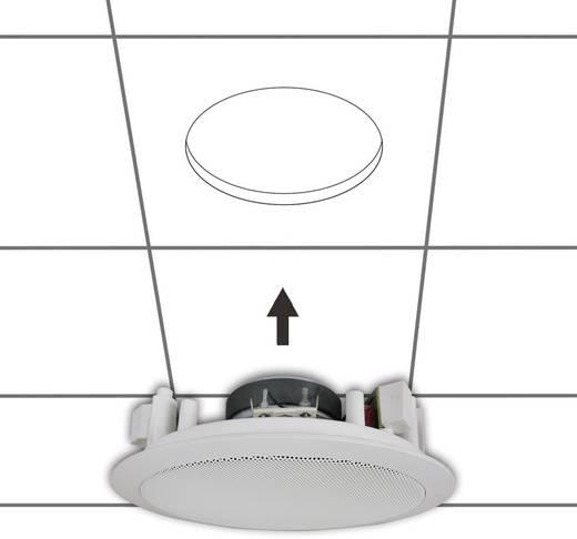 ELA-Einbaulautsprecher 130 MM 45 W 100 V Weiß 1 St.
