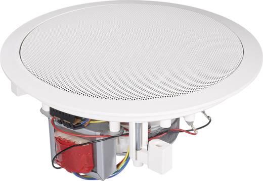 ELA-Einbaulautsprecher 160 MM 80 W 100 V Weiß 1 St.