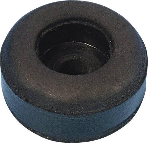 Gummifuß-Set 25 x 11 mm 1 St.