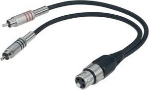 XLR-Buchse auf XLR-Stecker XLR-Kopfhörerkabel-Adapter Audio Line 30cm Cinch