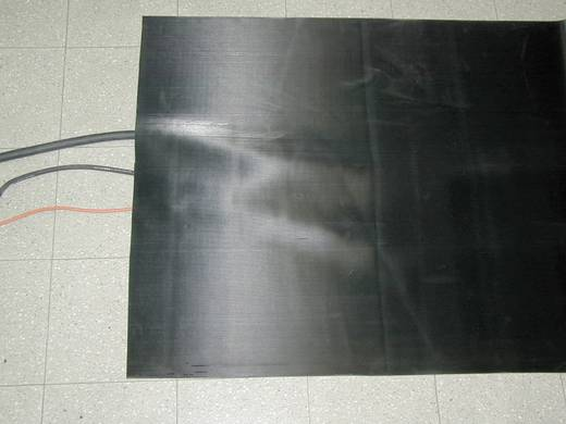 Kabelmatte Feinriefenmatte Schwarz