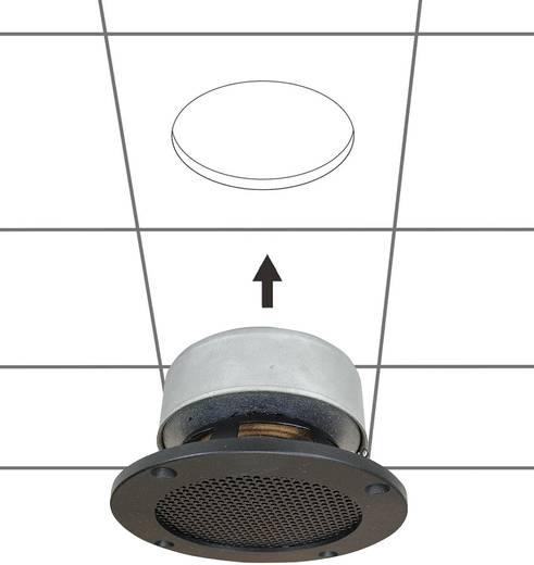 Einbaulautsprecher SpeaKa Professional DL-1117 25 W 8 Ω Schwarz 1 St.