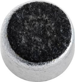 Elektretový mikrofon EMY-63M65, -65 dB, 50 - 15 000 Hz, AWG 2000 Ω, EMY-4530M, 2 - 10 V/DC