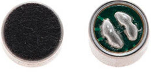 Elektret-Mikrofonkapsel EM-4 Betriebsspannung (Details): 1.5 - 10 V/DC -70 dB Frequenzbereich: 20 - 18 000 Hz Inhalt: 1