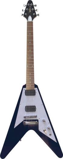 E-Gitarre MSA Musikinstrumente FV-520 Schwarz
