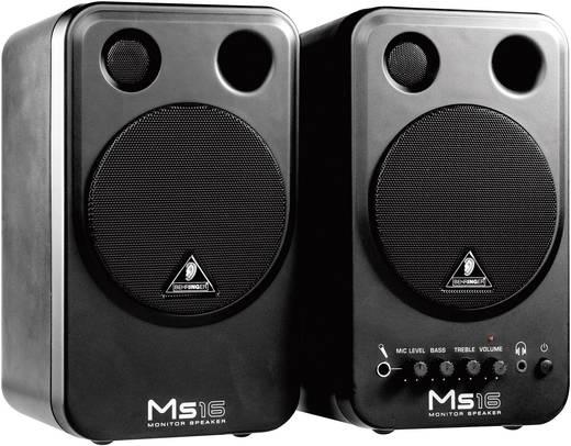 Aktiver Monitor-Lautsprecher 10 cm 4 Zoll Behringer MS16 8 W 1 Paar