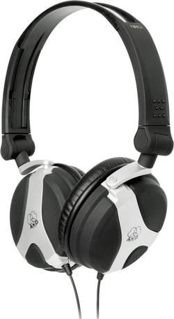 DJ sluchátka AKG Harman K81 DJ černá, stříbrná