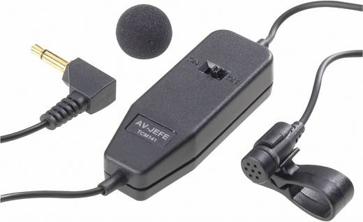 Ansteck Sprach-Mikrofon Renkforce TCM-141 Übertragungsart:Kabelgebunden inkl. Klammer, inkl. Windschutz