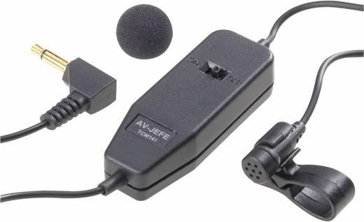 Ansteck Sprach-Mikrofon TCM-141 Übertragungsart:Kabelgebunden inkl. Klammer, inkl. Windschutz