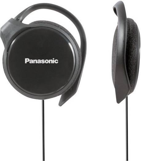 Sport Kopfhörer Panasonic RP-HS46 On Ear Ohrbügel Schwarz