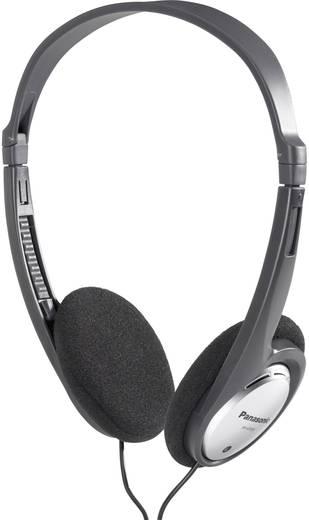 Kopfhörer Panasonic RP-HT030 On Ear Leichtbügel Schwarz, Silber