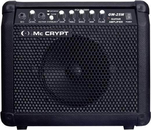 E-Gitarrenverstärker Mc Crypt GW25 M Schwarz
