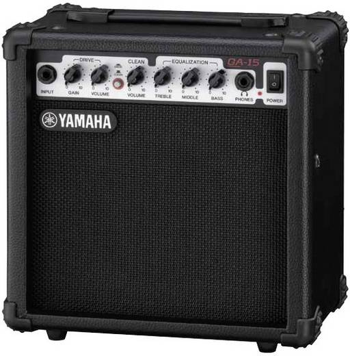 E-Gitarrenverstärker Yamaha GA 15 Schwarz