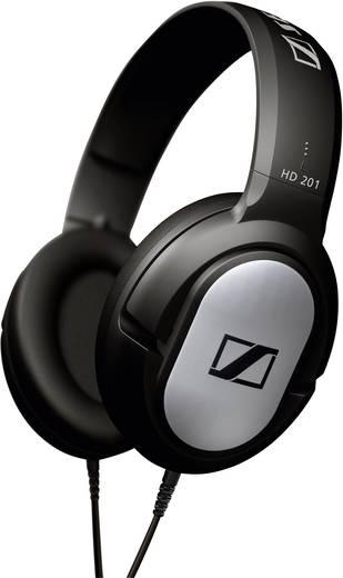 Kopfhörer Sennheiser HD 201 Over Ear Schwarz, Silber