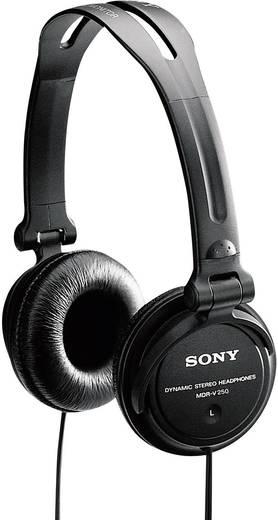 DJ Kopfhörer Sony MDR V150 On Ear Schwarz