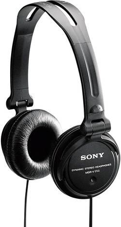 DJ sluchátka Sony MDR V150, černá