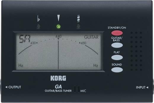 Gitarrenstimmgerät KORG GA40 Schwarz