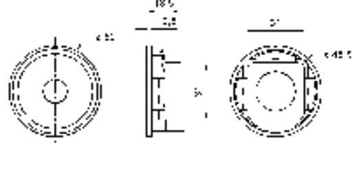 2 Zoll Breitband Lautsprecher-Chassis Visaton K 50 WP 2 W 50 Ω