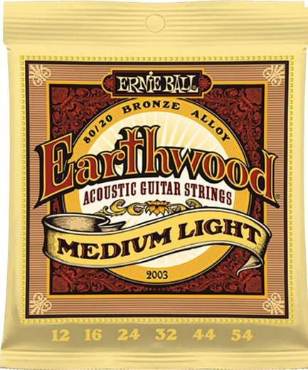 Westerngitarrensaite Ernie Ball EB2003 Medium Light 012-054