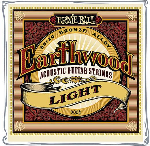 Westerngitarrensaite Ernie Ball EB2004 Light 011-052