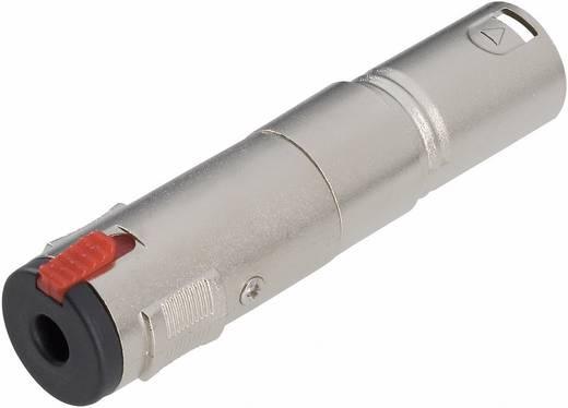 Audio Adapter [1x XLR-Stecker - 1x Klinkenbuchse 6.35 mm] Silber Paccs