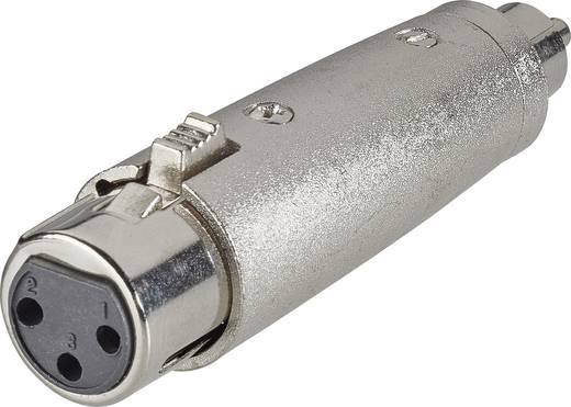Audio Adapter [1x Cinch-Stecker - 1x XLR-Buchse] Silber Paccs