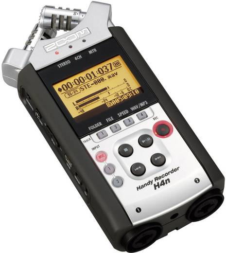 Zoom H4n Aufnahme-Recorder