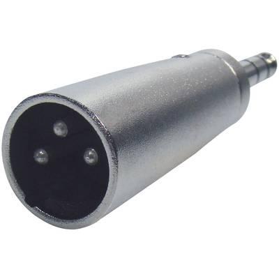 Paccs Audio Adapter [1x Klinkenstecker 6.35 mm - 1x XLR-Stecker] Silber Preisvergleich