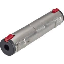 Adaptér Paccs HFA0040 [1x jack zásuvka 6,35 mm - 1x jack zásuvka 6,35 mm], strieborná