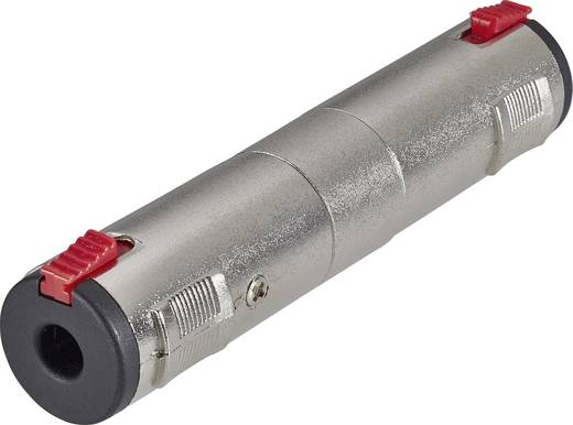 Klinken Adapter [1x Klinkenbuchse 6.35 mm - 1x Klinkenbuchse 6.35 mm] Silber Paccs