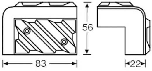 Lautsprecher-Ecke Mc Crypt 304413 4 St.