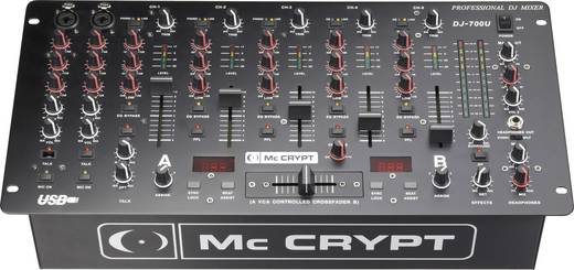 Mc Crypt DJ-700 USB Club-Mixer