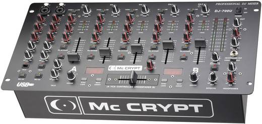 DJ Mixer 19 Zoll Einbau Mc Crypt DJ-700