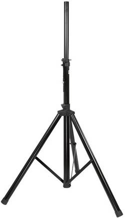 Hliníkový stojan na reproduktor, do 25 kg, černá