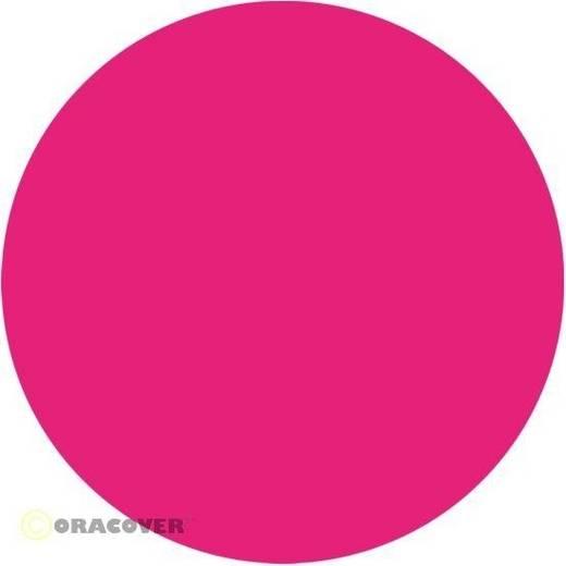 Bügelfolie Oracover 21-025-002 (L x B) 2000 mm x 600 mm Pink (fluoreszierend)