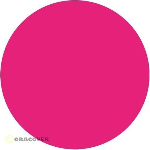 Bügelfolie Oracover 21-025-010 (L x B) 10000 mm x 600 mm Pink (fluoreszierend)