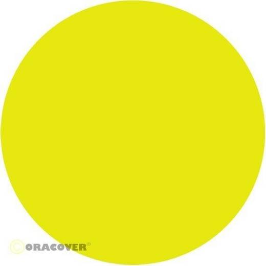Plotterfolie Oracover Easyplot 54-031-010 (L x B) 10 m x 38 cm Gelb (fluoreszierend)