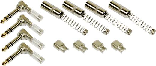 6.3 mm Klinkenstecker Paccs HST16SET4 rechtwinklig 4er Set