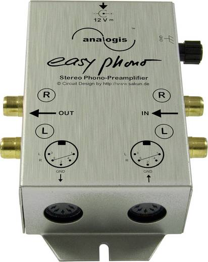 Phono-Vorverstärker Analogis Easy Phono