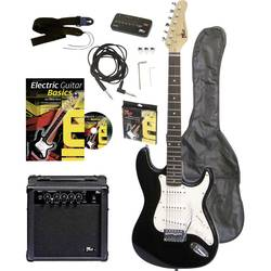Image of Voggenreiter EG100 E-Gitarren-Set Schwarz inkl. Tasche, inkl. Verstärker