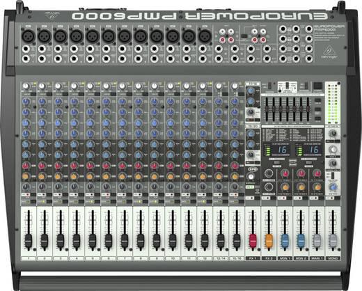 Powermixer Behringer PMP6000 2x 800 W Kanäle:20