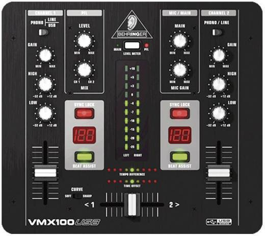 DJ Mixer Behringer VMX100 USB