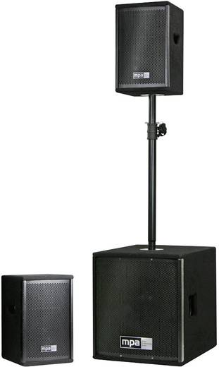 mpa M.A.R.L.I.S. 2.0 MK III Aktives PA-Lautsprecher-Set