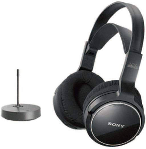 Funk Kopfhörer Sony MDR-RF811RK Over Ear Lautstärkeregelung Schwarz