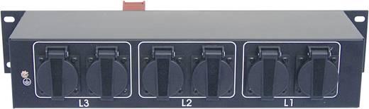 19 Zoll Stromverteiler 9fach Eurolite SB-1000 2 HE